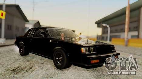 Buick GNX 1987 F&F4 para GTA San Andreas