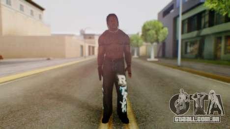 R Truth para GTA San Andreas segunda tela