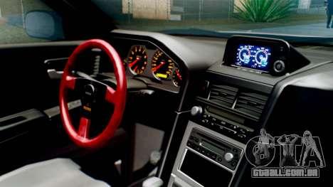 Nissan Skyline GT-R R34 RAID Spec para GTA San Andreas vista direita