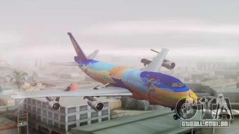 Boeing 747-400 Singapore Airlines Tropical PJ para GTA San Andreas