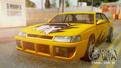 Sultan Винил из need For Speed ProStreet para GTA San Andreas