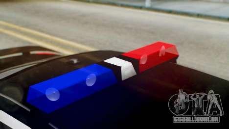 New Police LS para GTA San Andreas vista direita
