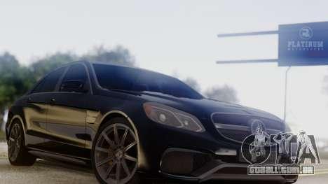 Mercedes-Benz E63 AMG PML Edition para GTA San Andreas vista direita