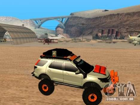 Ford Explorer 2013 Off Road para GTA San Andreas