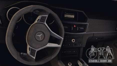 Mercedes-Benz E63 AMG PML Edition para GTA San Andreas vista interior
