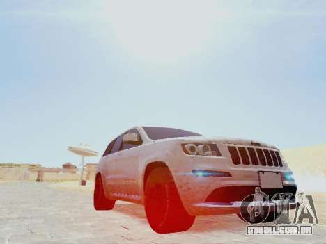 Jeep Grand Cherokee SRT8 2013 Tuning para GTA San Andreas