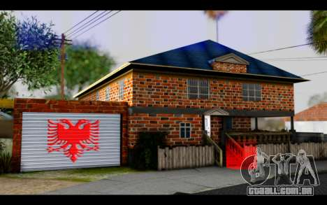 New CJ House para GTA San Andreas