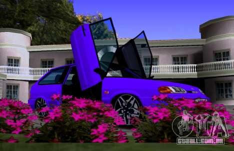 VAZ 2113 KBR para GTA San Andreas vista interior