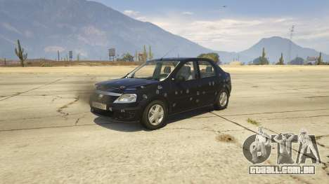 GTA 5 2008 Dacia Logan v2.0 FINAL volante