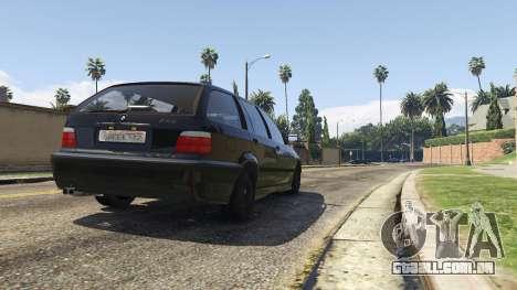 GTA 5 BMW M3 E36 Touring voltar vista