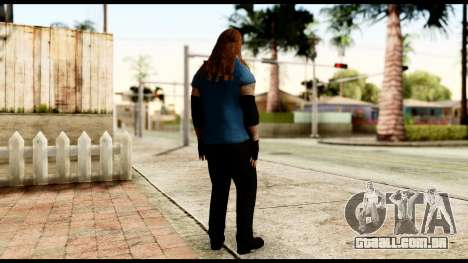 WWE UAB para GTA San Andreas terceira tela