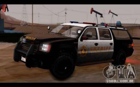 GTA 5 Declasse Sheriff Granger IVF para GTA San Andreas