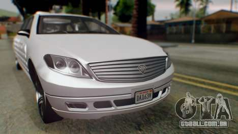 GTA 5 Benefactor Stretch E Turreted IVF para GTA San Andreas vista direita