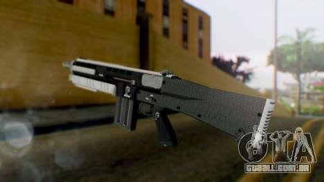 GTA 5 Assault Shotgun - Misterix 4 Weapons para GTA San Andreas segunda tela