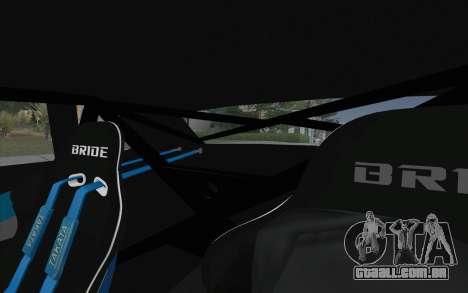 Elegy Drift King GT-1 [2.0] para vista lateral GTA San Andreas
