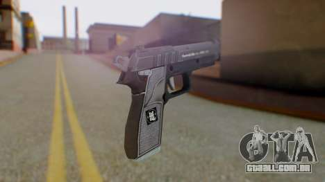 GTA 5 Pistol - Misterix 4 Weapons para GTA San Andreas segunda tela