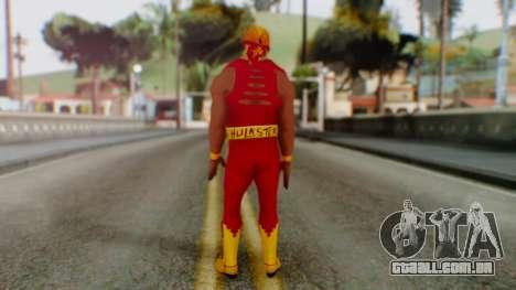 WWE Hulk Hogan para GTA San Andreas terceira tela