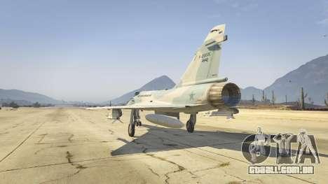 GTA 5 Dassault Mirage 2000-C FAB terceiro screenshot