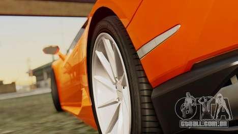 Lamborghini Huracan LP610-4 2015 para GTA San Andreas vista direita