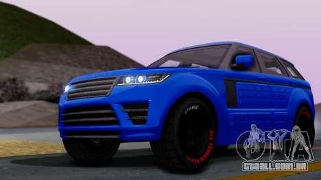 GTA 5 Gallivanter Baller LE Arm para GTA San Andreas