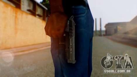 GTA 5 Pistol - Misterix 4 Weapons para GTA San Andreas terceira tela