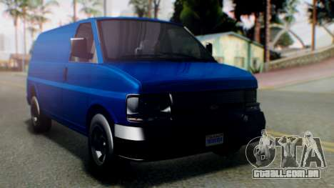 GTA 5 Vapid Speedo para GTA San Andreas
