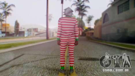 GTA Online Festive Surprise Skin 3 para GTA San Andreas terceira tela