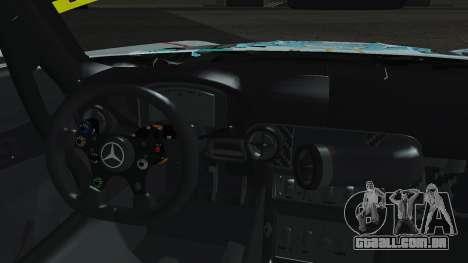 Mercedes-Benz SLS AMG GT3 2015 Hatsune Miku para GTA San Andreas vista interior