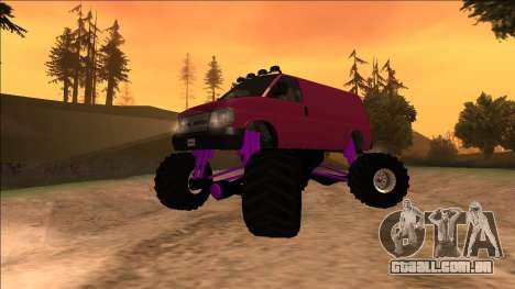 GTA 5 Vapid Speedo Monster Truck para GTA San Andreas
