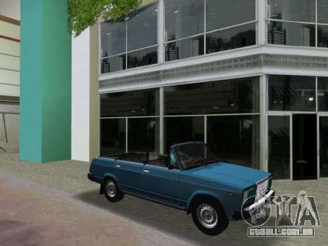 VAZ 21047 Conversível para GTA Vice City vista interior