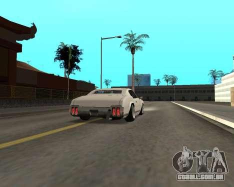 Sabre Boso para GTA San Andreas vista direita
