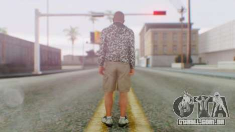 GTA 5 Michael para GTA San Andreas terceira tela