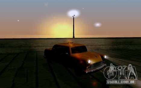 Realistic ENB v1.2.1 para GTA San Andreas quinto tela
