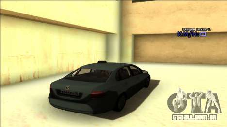 Volkswagen Polo para GTA San Andreas vista superior