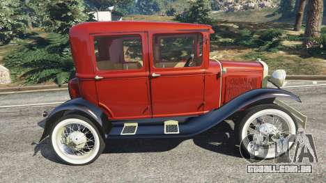 GTA 5 Ford Model A [mafia style] vista lateral esquerda