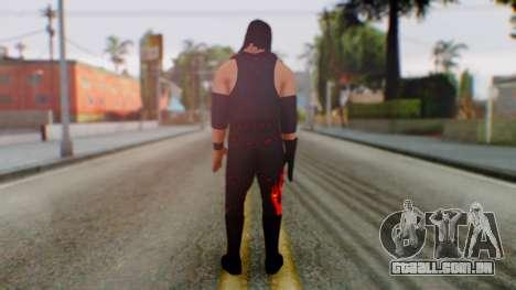 WWE Kane para GTA San Andreas terceira tela