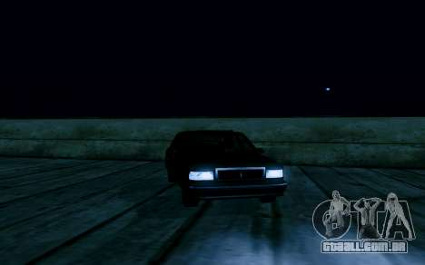 Realistic ENB v1.2.1 para GTA San Andreas por diante tela