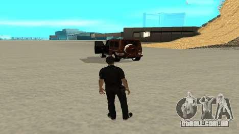 Uma saída rápida de transporte para GTA San Andreas