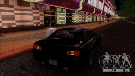 Elegy HellCat para GTA San Andreas vista interior