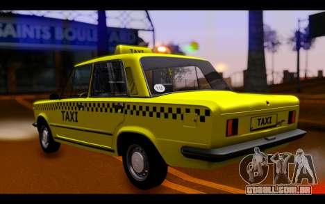 Zastava 125PZ Taxi para GTA San Andreas esquerda vista