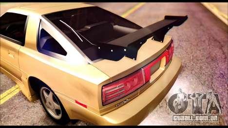 Toyota Supra MK3 Tunable para GTA San Andreas interior