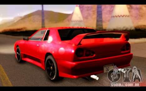 ElegyX para GTA San Andreas esquerda vista