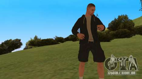 Time Animation para GTA San Andreas por diante tela