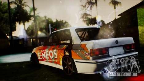 BMW M3 E30 Ramona Rusu para GTA San Andreas esquerda vista