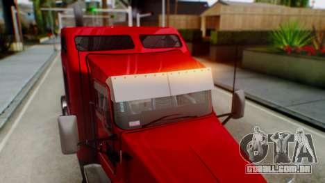 Kenworth T600 Aerocab 72 Sleeper para o motor de GTA San Andreas
