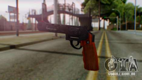 GTA 5 Bodyguard Revolver para GTA San Andreas segunda tela
