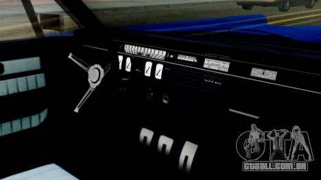 GTA 5 Vapid Chino Tunable IVF para GTA San Andreas vista traseira
