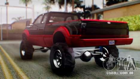 GTA 5 Vapid Sandking SWB IVF para GTA San Andreas esquerda vista