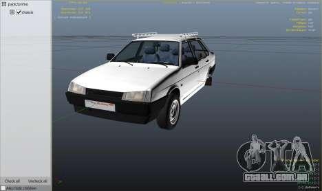 Roda GTA 5 VAZ 21099 v3