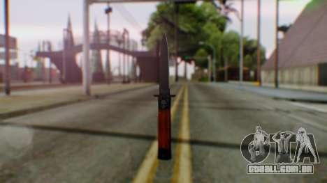 GTA 5 Bodyguard Switchblade para GTA San Andreas segunda tela